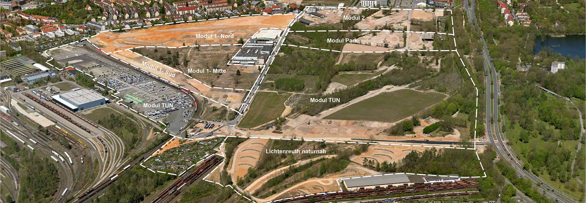 Grünordnungsplanung Nürnberg Lichtenreuth | © Nürnberg Luftbild | Hajo Dietz