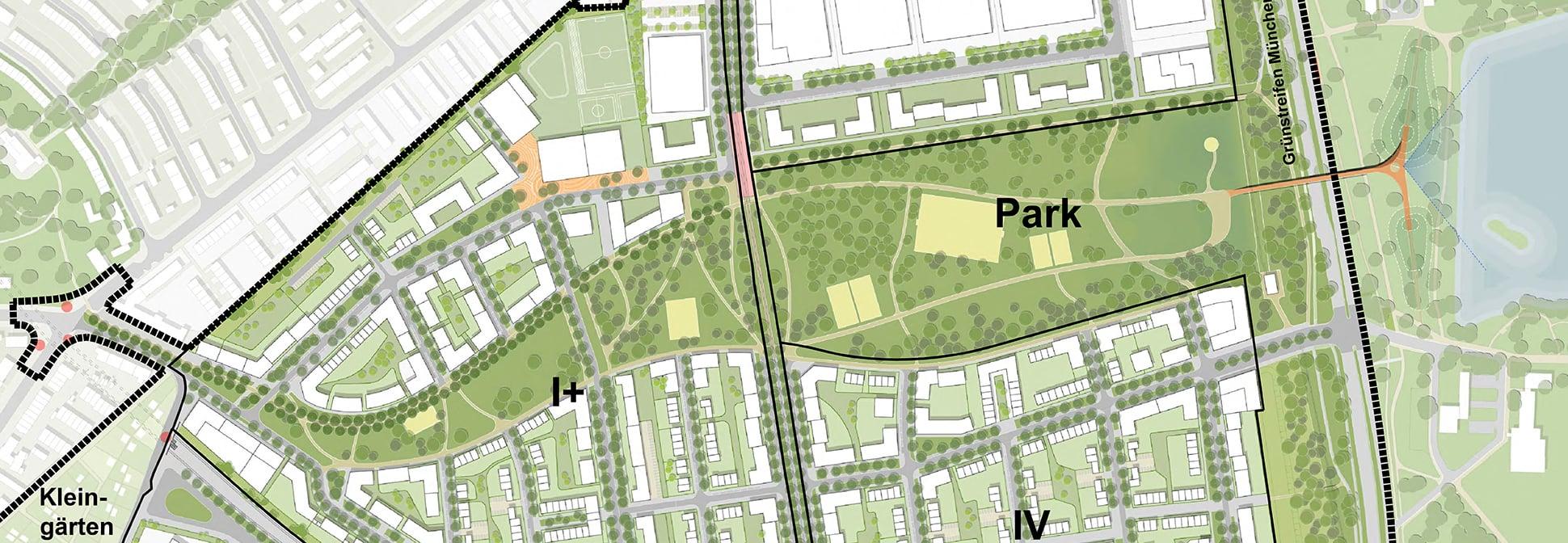 Grünordnungsplanung Nürnberg Lichtenreuth Zugang