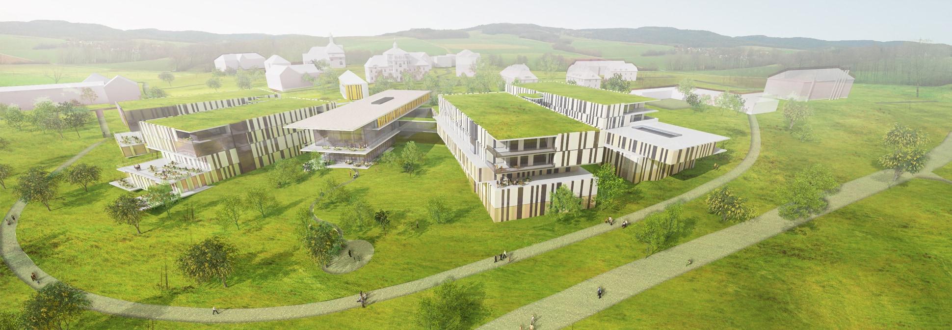 Neubau Bezirksklinikum Obermain, Rendering