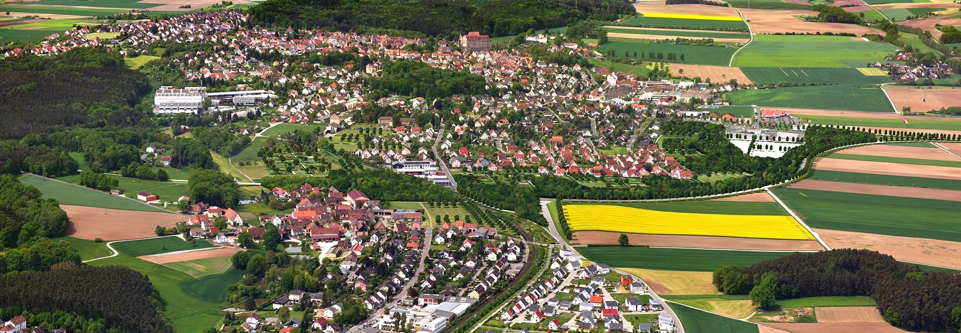 Neue Gärten für Cadolzburg Zugang