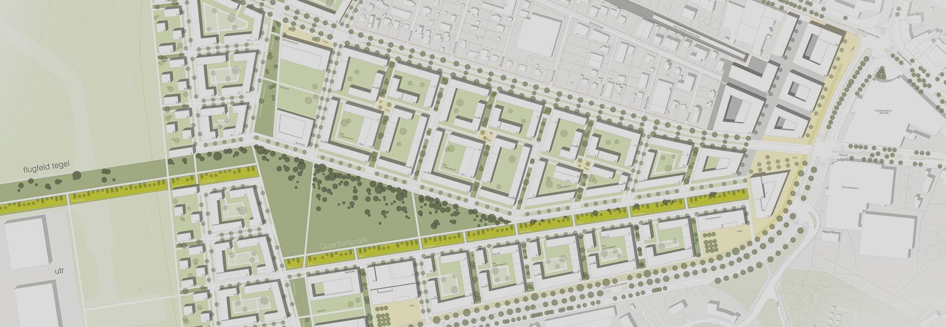 Schumacher Quartier in Berlin Tegel Zugang