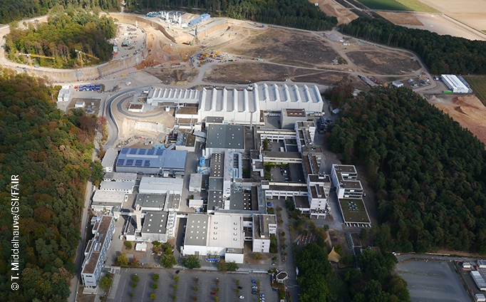 FAIR – Facility for Antiproton and Ion Research, Darmstadt