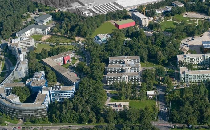 Nordostpark, Nürnberg - Luftbild