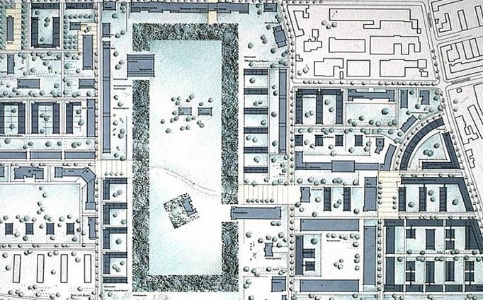 Konversion O´Darby-Kaserne Fürth Lageplan