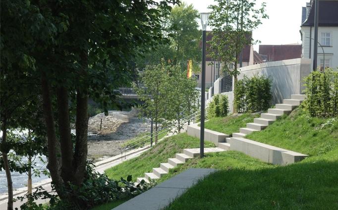 """Uferpark """"Alter Donauhafen"""", Donauwörth"""