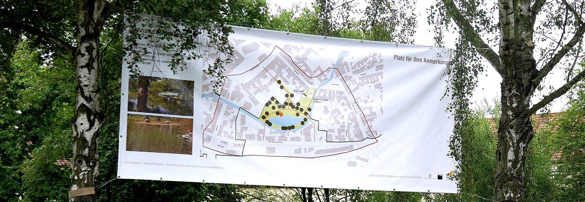 Szenario Stadtpark Mitterteich