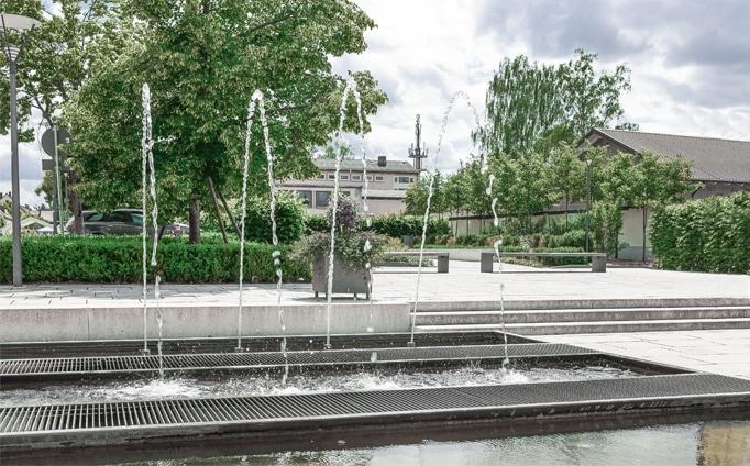 Kulturelles Zentrum, Grafenwöhr, Brunnen