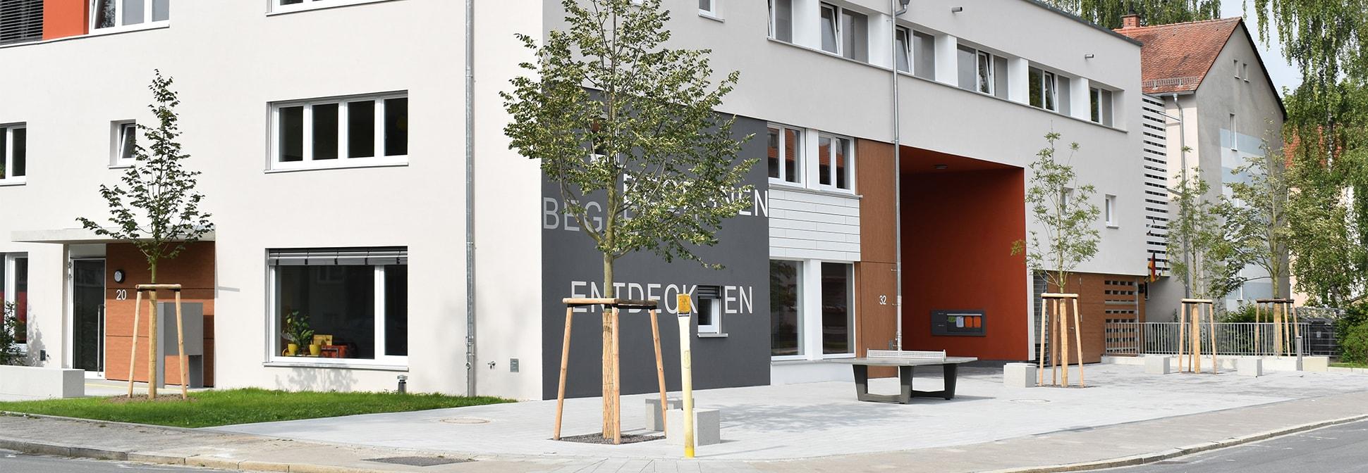 Jugendeinrichtung mit Wohnungen, Erlangen