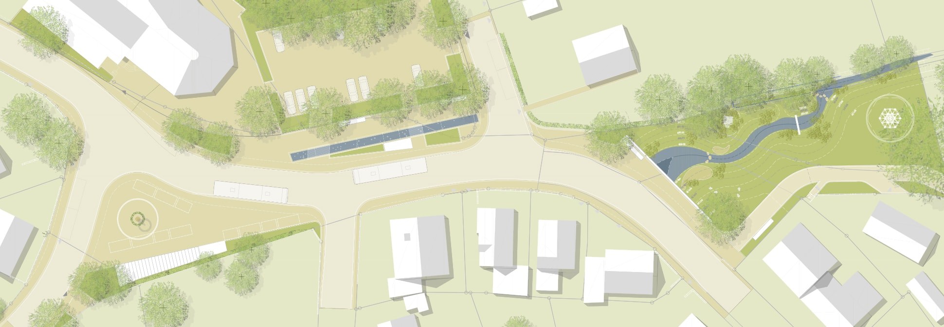 Gestaltung Ortsmitte Thal, Vöhringen